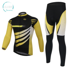 100% Polyester Man′s Knit Cycling Wear