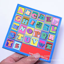 cute kids educational toy EVA foam fridge magnet alphabets for promotional kids gifts