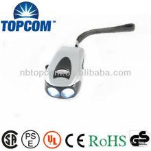 Lampe de poche mémorisée et Dynamo Torch / 2 LED