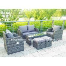 Lay down Открытый мебель из ротанга сада (GN-9103-1S)