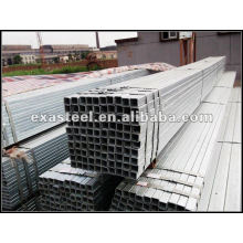 Perfil de acero galvanizado Perfil cuadrado Tubo cuadrado