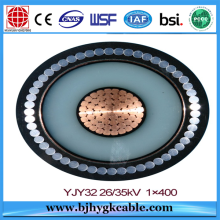 Middle Volt Cable Single Core XLPE Insulation Copper Cable
