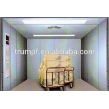 FUJI ascenseur à cargaison avec voiture peinte