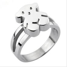Jóias de aço inoxidável senhora moda anel (hdx1076)