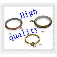 different size small metal curtain rod ring