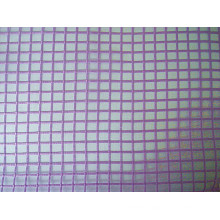 Seersucker Grid Organza Fabric