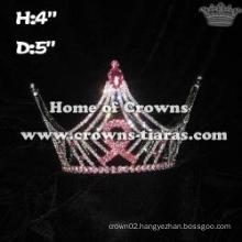 Pink Ribbon Full Round Crowns