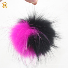 Livraison directe en usine Raccoon Skin Fur Material Rabbit Fur Pompom Ball