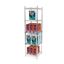 Adjustable Metal Crafts Display Shelves with NSF Approval (CJ4545180A5C)