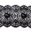 Густые кружевные ресницы шантильи с шнурком 29,5 см