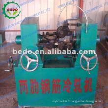 barre d'acier laminage nervure machine (dans le processus de laminage à froid) 8613592516014