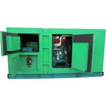 Cummins diesel 250kva / 200kw silenciador conjunto de generador con alternador trifásico