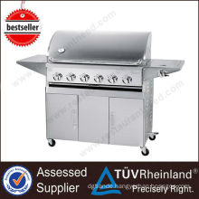 Commercial Infrared Portable Electric barbecue grill with lava rock