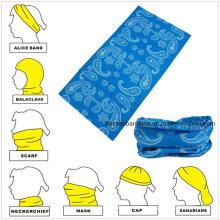 Custom Made Design Logo Impresso Promocionais Magic Multifuncional Headwear