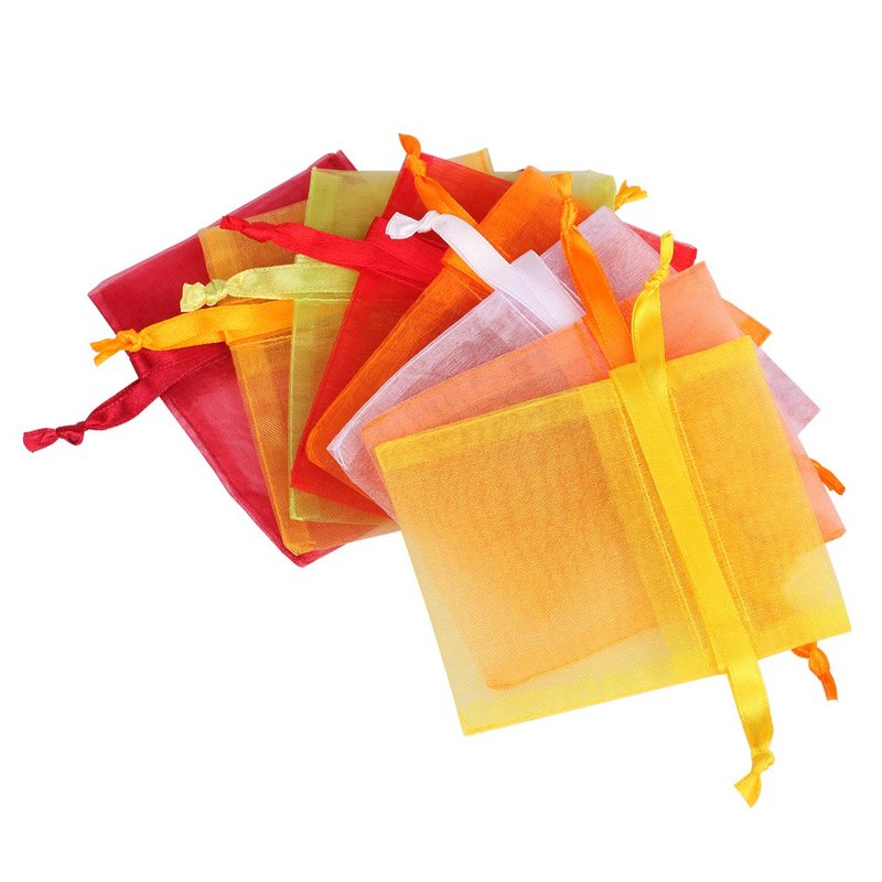 drawstring candy organza bag