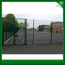 Commercial rigid 3D mesh fencing system