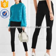 Кожи 5 средней высоты узкие джинсы оптом производство модной женской одежды (TA3067P)