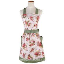 OEM моды цветок печатных кухонный масонской фартуки