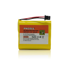 Batterie rechargeable de batterie de téléphone sans fil de PKCELL Nicd 3.6v