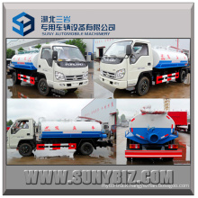 3000L Forland 4X2 Vacuum Fecal Suction Tanker Truck