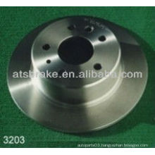 Brake disc rotor rear brake dsic for Mecedes-Benz