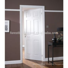 6 paneles pre pintados Woodgrain Gloss puerta interna