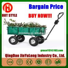 carro de ferramenta de malha de jardim Vagão de aço reboques jardim vagão TC1859