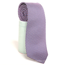 China Factory Custom Print Good Penetration Hand-rolled Hem Silk Necktie