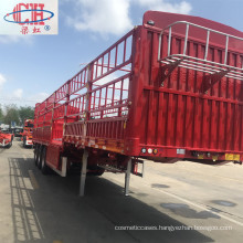 Heavy Duty Utility Curtain Side Flatbed Trailer
