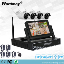 "1.3 / 2.0MP Wifi NVR Kits tare da 7 ""LCD allo"