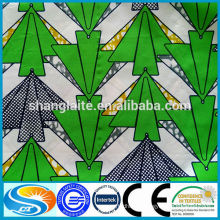 2015 latest design fashion style Wax print fabric