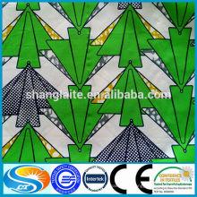 2015 mais recente design fashion style tecido de impressão de cera