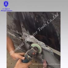 Keying Abrasive Elastic Klappenscheibe / Aluminiumoxid-Oxid-Klappenscheiben / Klappenscheiben 100 * 16mm