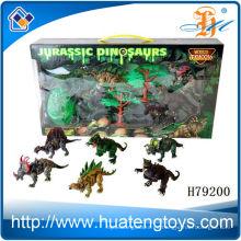 2013 Dinosaurio plástico vendedor caliente del juguete de los animales del montaje para la venta para los cabritos
