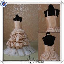 FF0003 последние конструкции платья для девушки цветка реального образца детские платья для свадеб