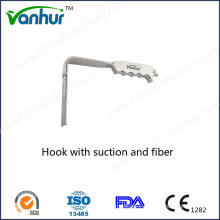 Hook with Suction and Fiber