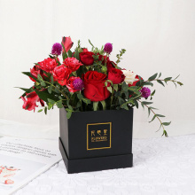 Luxury Custom Printing Bridesmaid Proposal Cardboard Rose Gift Flower Boxes