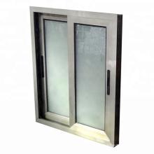 Ventanas corredizas de vidrio templado de aluminio con revestimiento en polvo precio de Filipinas