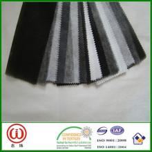 Forro de papel dobladillo superior Forro no tejido tejido de fusión en caliente
