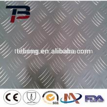 Feuille d'aluminium antidérapante 3003 H22