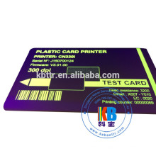 Impressora de cartões de identificação de sublimação UV fita zebra Evolis Pebble 1000 imagens