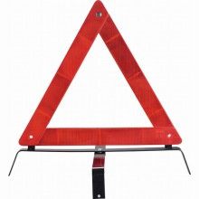 road safety reflective car warning triangle traffic sign