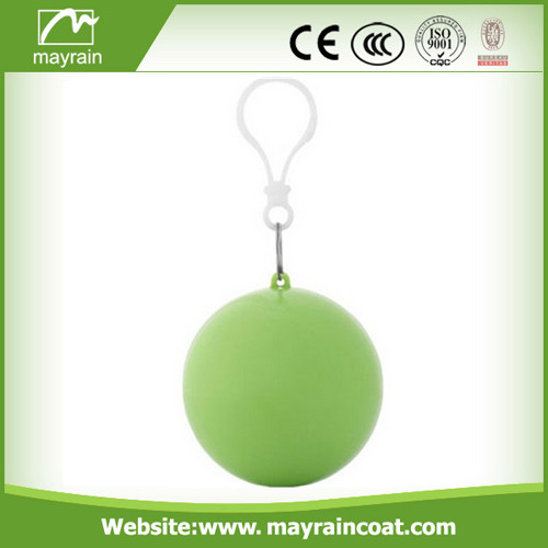 PE Poncho in Ball for Promotion