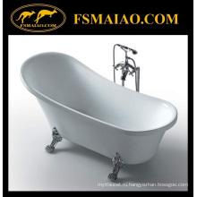 Акриловая свободностоящая классическая ванна (BA-8307B)