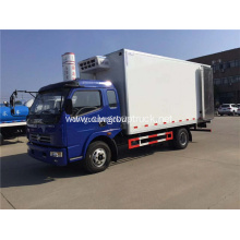 4x2 low cab-over design reefer box truck