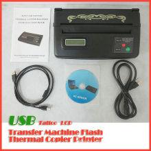 Máquina de copiadora térmica de tatuagem USB LCD