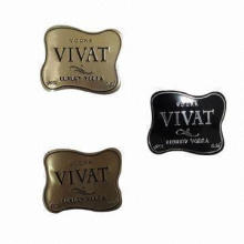 Gold Metal Label, Comfortable Vision Effect, Available in Various Colors, 0.8mm Thickness