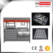 Máquina de formación de vacío semiautomática avanzada para PVC, PE, PET, PC, PP, con CE