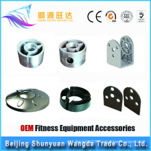 OEM Aluminum Die casting Parts, Fitness Equipment Accessories