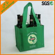 Saco de transporte de vinho garrafa reutilizável portátil